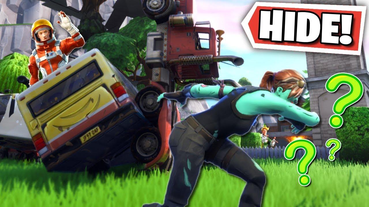 we made a custom hide n seek map in fortnite creative mode - hide and seek in fortnite creative mode