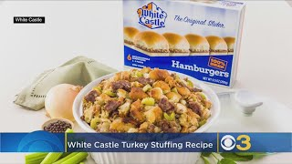 White Castle's Turkey Stuffing Recipe Is Made With Actual Hamburger Sliders