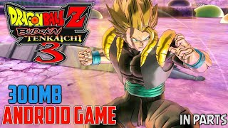 [300MB] Download Dragon Ball Z Budokai Tenkaichi 3 | Highly Compressed | Gameplay | For Android