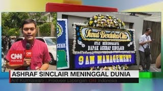 Ashraf Sinclair Meninggal, Pelayat Mulai Berdatangan ke Rumah Duka
