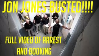 UFC Champ Jon Jones PLEADS GUILTY to New Arrest! watch the FULL ARREST and BOOKING video HERE!!!