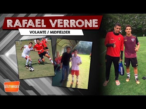 Rafael Verrone - Rafael Feraiorni Verrone - Volante - www.golmaisgol.com.br
