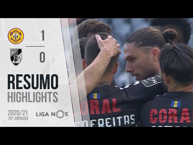 Highlights | Resumo: CD Nacional 1-0 Vitória SC (Liga 20/21 #29)