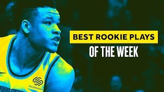 Top NBA Rookie Highlights of the Week (Dec. 3 to Dec. 9)