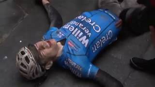 Wout van Aert Strade Bianche 2018 finish