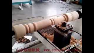 Cnc Lathe Woodworking Machine