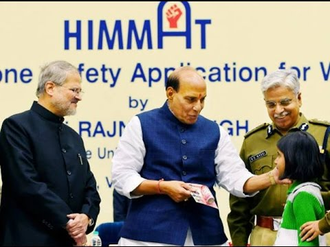 Delhi Police Give 'Himmat' to Women, Launch Safety App - TOI