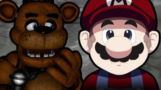 FREDDY PLAYS: Mario - The Music Box || MARIO EXPLORES A CREEPY AND DESOLATE MANSION!!!