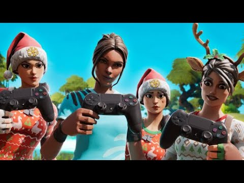 The NASTIEST Controller Squad in Fortnite