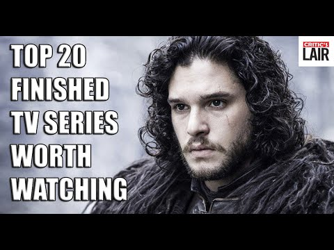 Top 20 Finished TV Series Worth Watching