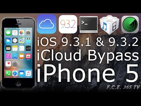 How to use CFW to Full Bypass iCloud on iPhone 5 iOS 9.3.2 with LibiMobileDevice (With PROOFS!)