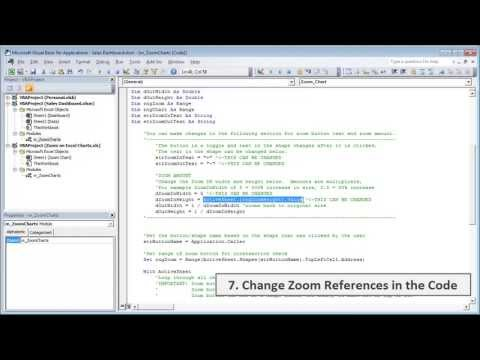Excel Zoom on Charts Macro Tutorial