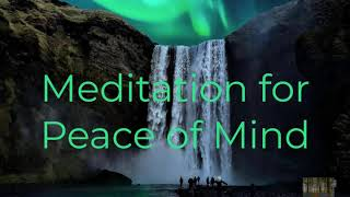 Guided Meditation for Peace of Mind