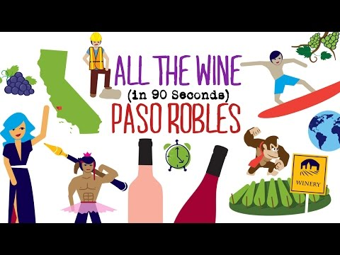 Paso Robles Wine in 90 Seconds
