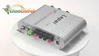 2.1 Audio PDIF Coaxial Optical Converter Digital Power Amplifier LP-838  from Dinodirect.com