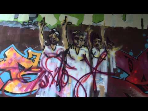 Cubaanse Activist Straatkunstenaar Danilo Maldonado. Amsterdam 2013