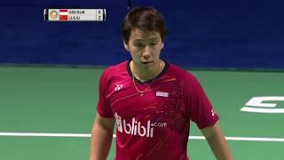 Tahoe China Open 2017   Badminton SF M3-MD   Gid/Suk vs Li/Liu