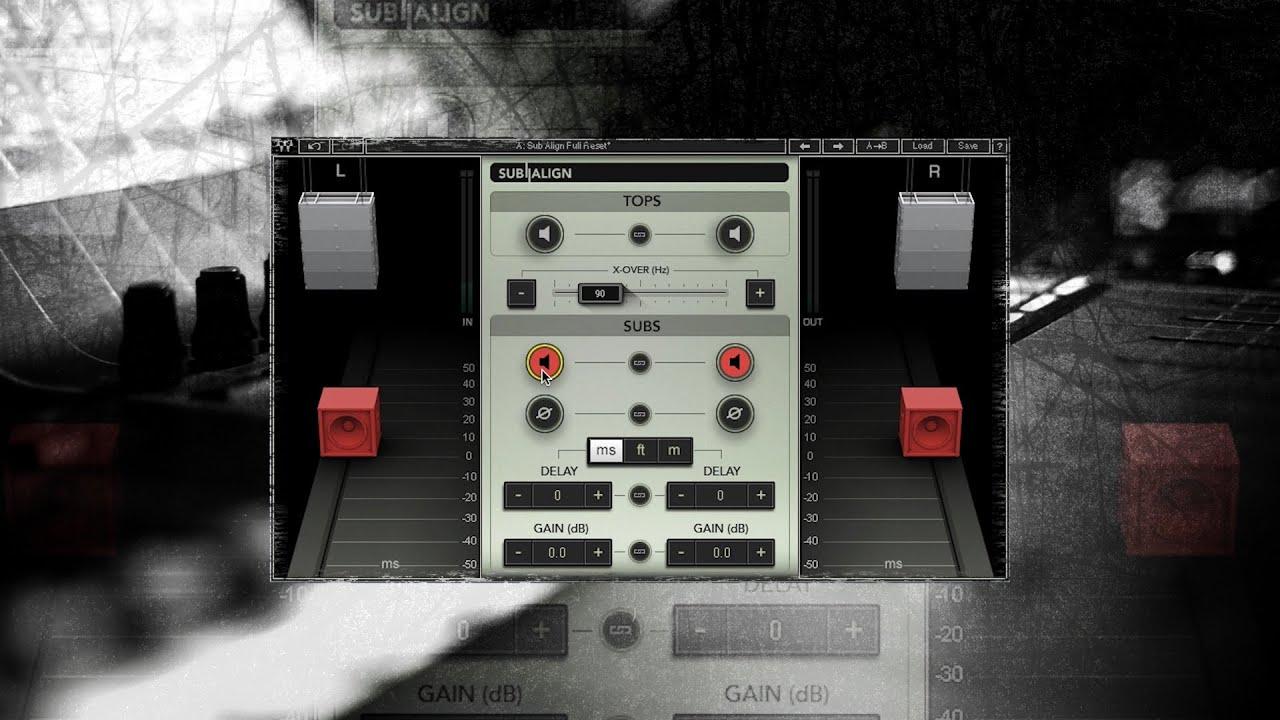 Waves Audio Sub Align Plugin Offers Original Solution for FOH