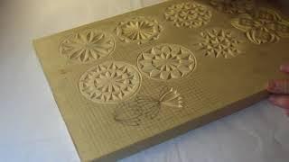 Геометрическая резьба по дереву. Урок 25 (geometric wood carving)