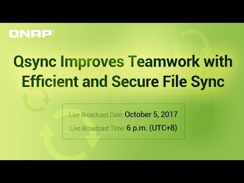 Qsync Improves Teamwork with Efficient and Secure File Sync