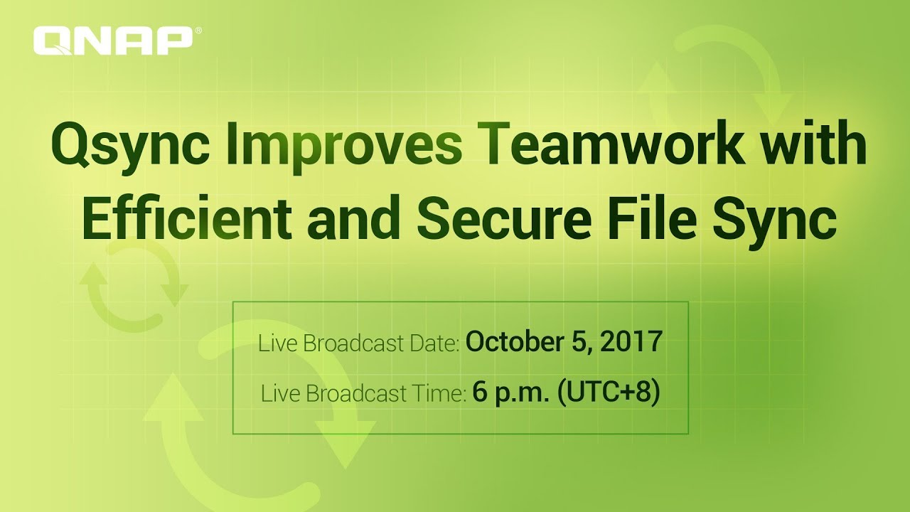 Qsync Improves Teamwork with Efficient and Secure File Sync - YouTube