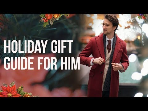 10 Christmas Gifts for Fashionable Guys | Gift Ideas for Him