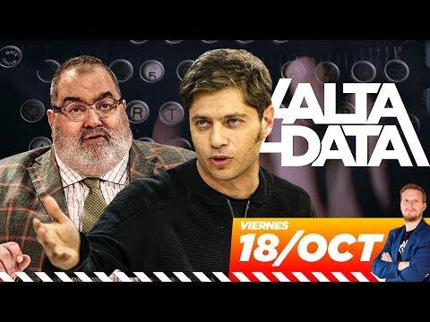La fake news sobre Kicillof del guionista de Lanata   #AltaData, todo lo que pasa en un toque