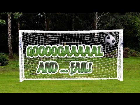 Bon Backyard Soccer   Goals And Fails!