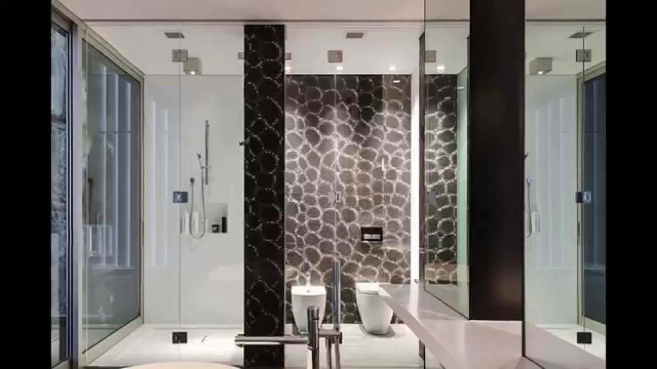 Modern Resort Toilet Design VS Contemporary Bathroom Design with ...