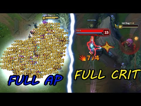 Full AP Kennen vs. Full CRIT Kennen!! [ League of Legends ]