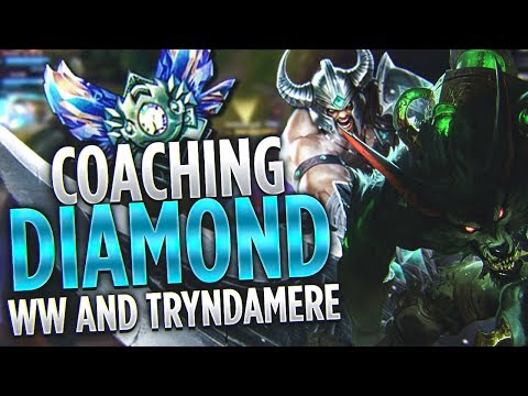 Tarzaned | COACHING DIAMOND WARWICK AND TRYNDAMERE + INFORMATIVE VOD REVIEW!