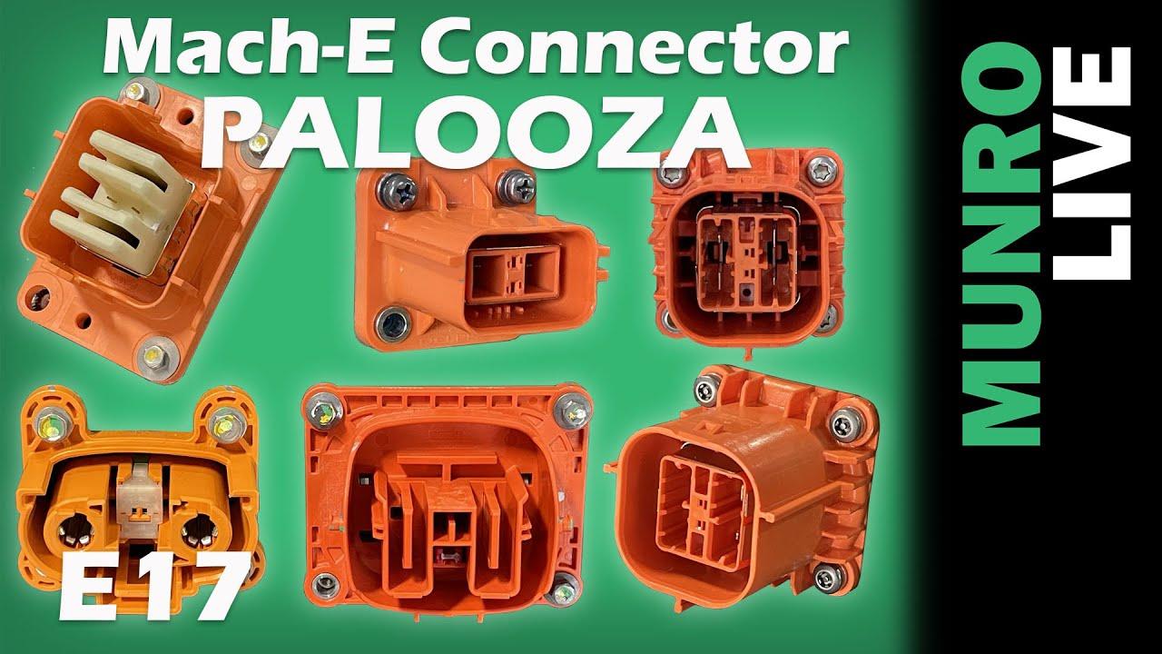 Mach-E High Voltage Connector PALOOZA!!!