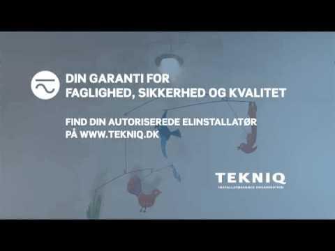TEKNIQ Reklamefilm - den med halogenspottet