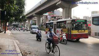 Xe Buýt Hà Nội 2019 P7 🚌 Wheels On The Bus ❤  Nursery Rhymes Super Simple Song   HT BabyTV ✔︎