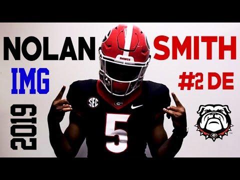 #2 DE Class of 2019 | Georgia Commit | Nolan Smith | Bradenton, FL