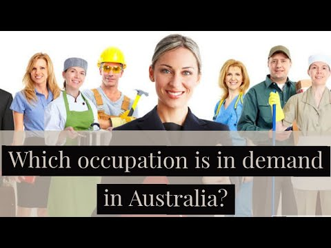 Which Occupation Is In Demand In Australia In NSW, VIC, ACT, WA, SA Skilled Occupation List 190 189