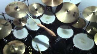 Jerry Reed - Amos Moses (Drum Cover + Lyrics)