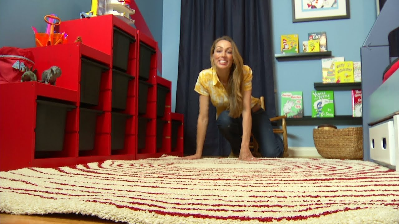 Dr. Seuss Themed Children's Bedroom Makeover