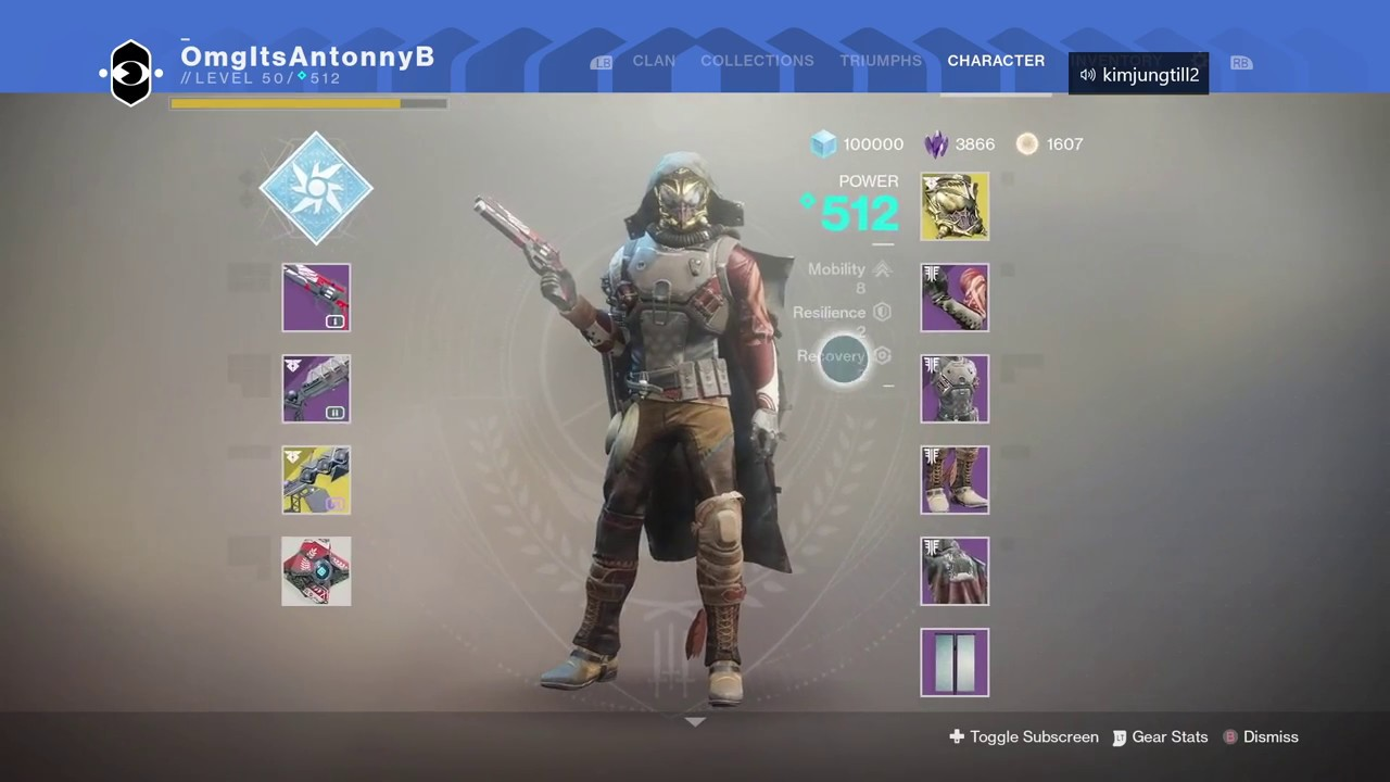 Completing Legend Rank in Gambit (Destiny 2)