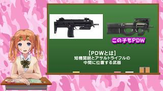 MP7(MP7A1)をお勉強してみたよ♪【ミリタリーvtuber  彩まよい】