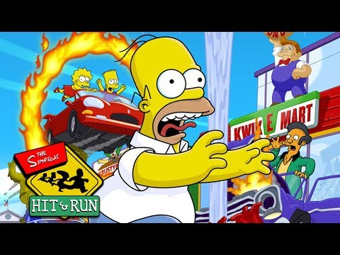THE SIMPSONS: HIT AND RUN All Cutscenes (Game Movie) 1080p 60FPS