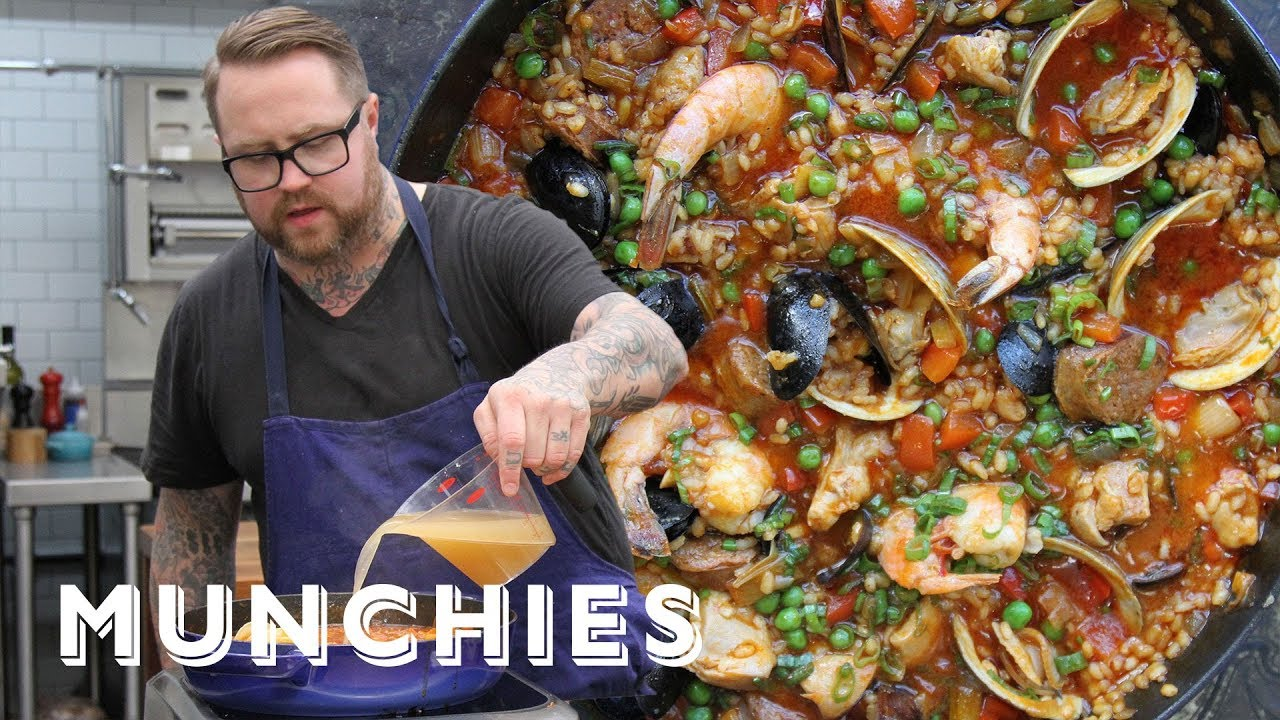 How-To: Make Paella Valenciana with Jamie Bissonnette