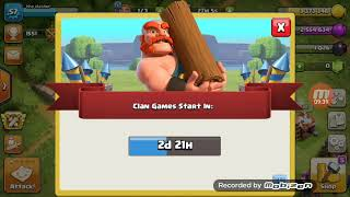 My first clash of clans gameplay/ harsh vines