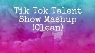 Hey guys! i hope you like the clean tiktok mashup that made for a talent show! tried my best! (i dont own any of this music! hot shower chance rapper...