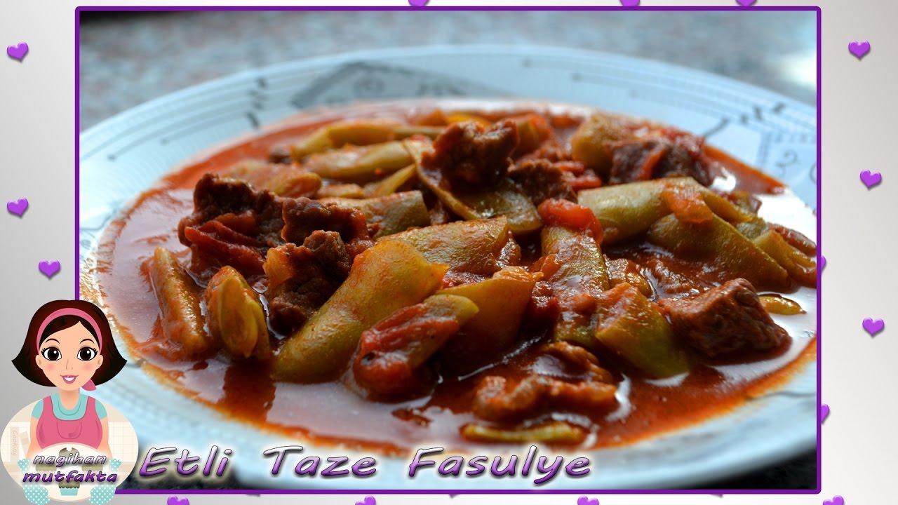 Etli Taze Fasulye Tarifi – Sebze Yemekleri