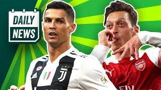 Mesut Özil dominiert!  Cristiano Ronaldo vs. Manchester United! Marcelo zu Juve? Jovic bleibt!