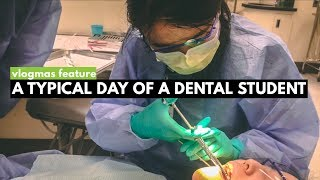 A Typical Day of A Dental Student | VLOGMAS Feature 1