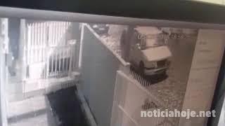 S10 é furtada no Centro de Caçador
