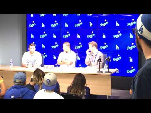 VIP Press Conference w/ Dave Roberts and Logan Forsythe