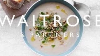 Celeriac and Walnut Soup | Waitrose